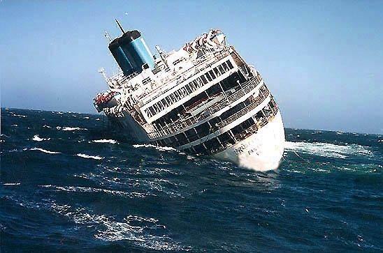 The Britanis Sinking